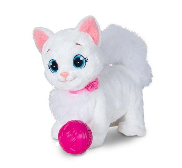 Weiß Katze Kätzchen von IMC mit Funktion und Geräuschen Neu