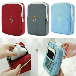 Travel-Electronic-USB-Cable-Charger-Organizer-Portable-Storage-Bag-Waterproof-FT