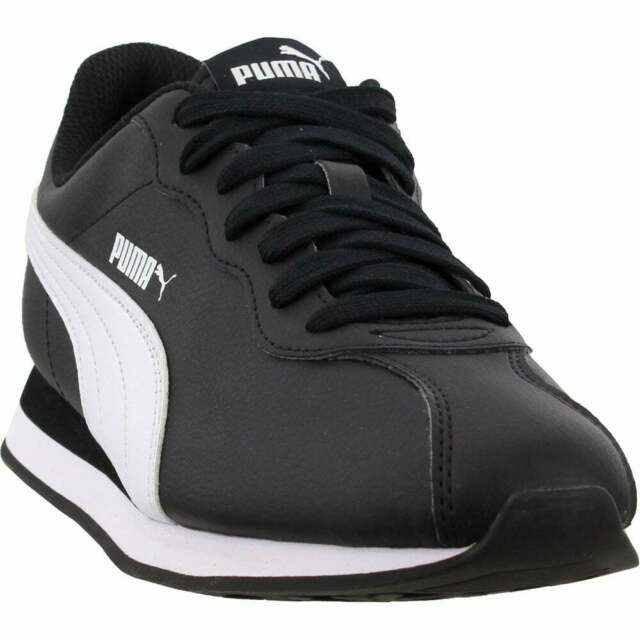 PUMA Men's Turin Black Sneaker Shoes