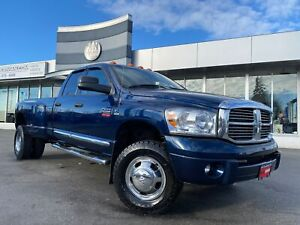 2007 Dodge Ram 3500 Laramie 4WD DRW DIESEL LEATHER SUNROOF NAVI TUNED