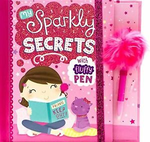 Girls-Journal-Book-My-Sparkly-Secrets-with-Fluffy-Pen-Christmas-Stocking-Filler