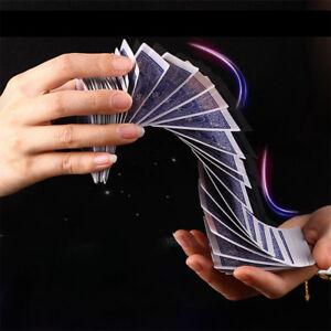 Floating Poker Card Hummingbird UFO Cards Stage Street Close-Up Magic Tricks THK