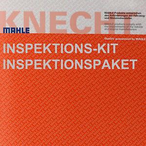 KNECHT Set Filterpaket Luftfilter LX 1631 Ölfilter OC 727 MAHLE