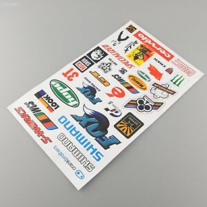 BMX MTB Mountain Bike Cycling Bicycle Decal Cool Sheet Stickers Sticker HOT 5F2D