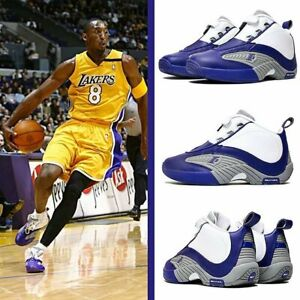 Details about Reebok Answer 4 IV DMX Allen Iverson AI Purple White Kobe Lakers PE BS9847 sz 10
