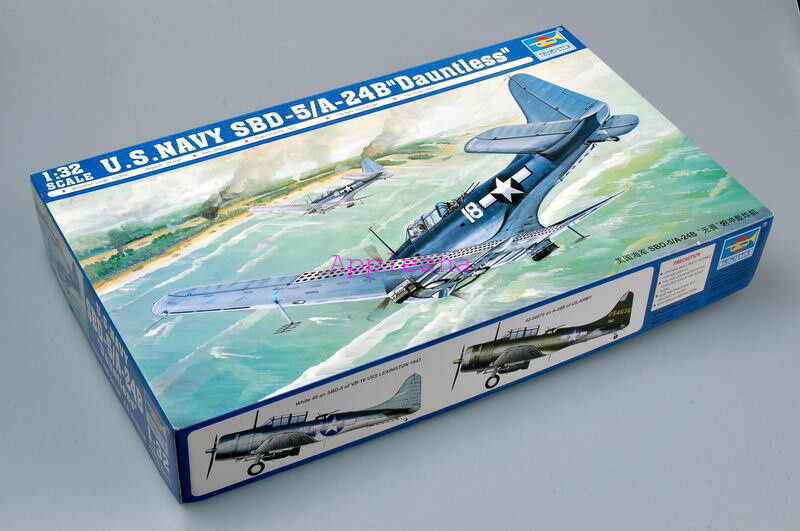 Trumpeter 02243 1 32 US Navy Douglas SBD-5 A-24B Dauntless