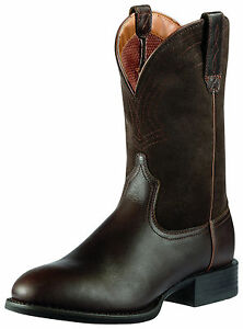 3bdf64ae8ee Details about ARIAT - Men's Sport Roper Boots - Brown / Brown Suede -  10010957 - NEW