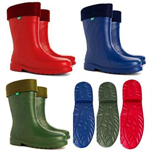 Ladies Wellingtons Thermal 30 C Lightweight  EVA Wellies Rain Boots LUNA