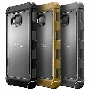 For-HTC-One-M9-2015-Case-Poetic-Affinity-034-TPU-Grip-Bumper-034-Shockproof-Cover
