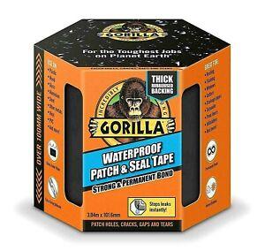 Gorilla-Tape-Waterproof-Patch-Seal-Strong-Rubberised-Roof-Leak-Repair-Cracks-NEW