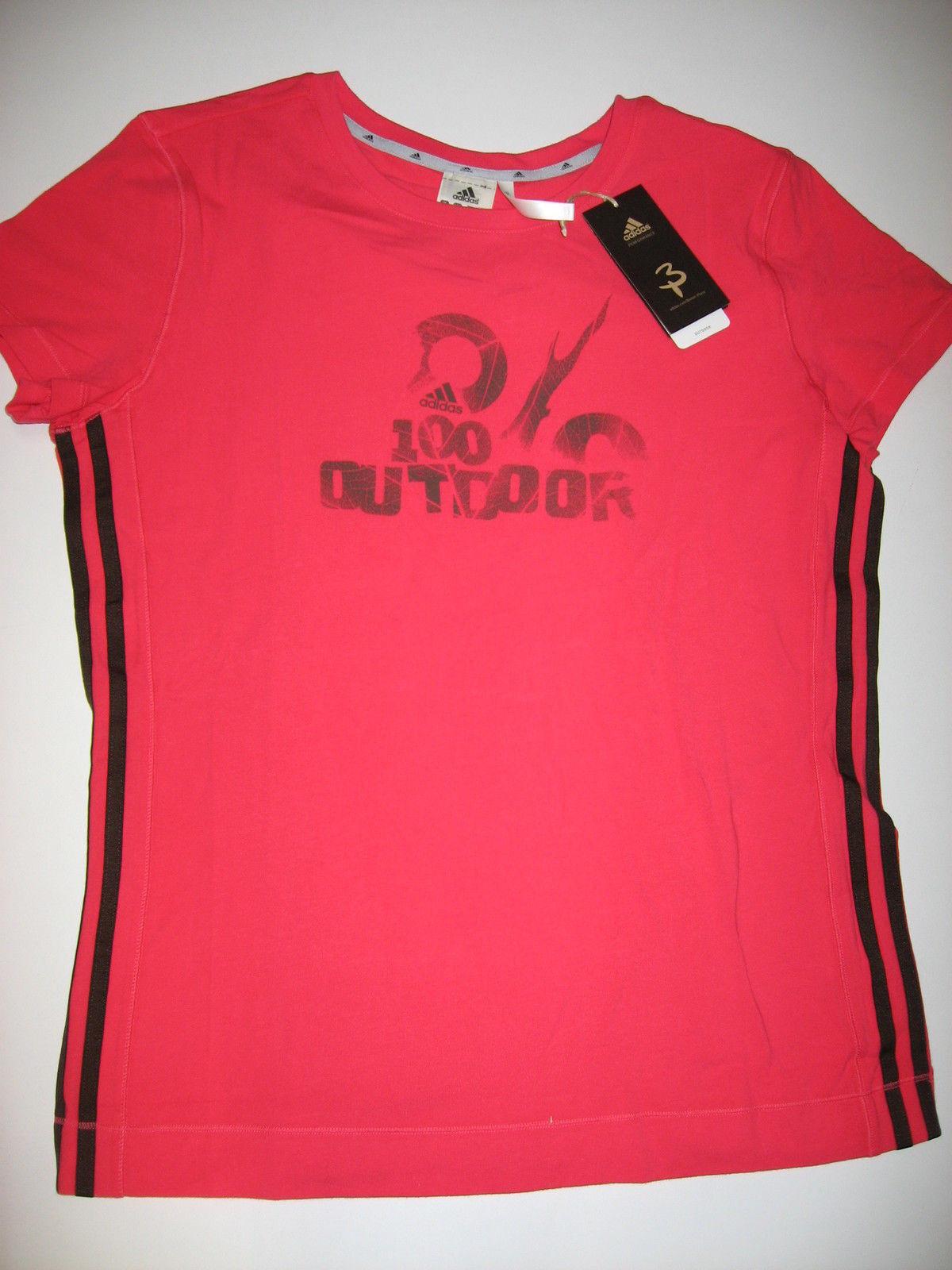 Adidas p09853 Purah Shirt Hiking Outdoor Organic Cotton Cotton