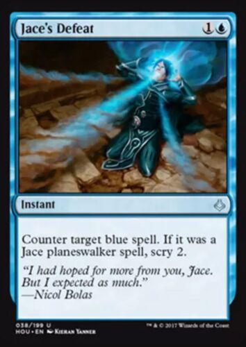 SPARROW MAGIC mtg U Hour of Devastation 4x Jace/'s Defeat NM