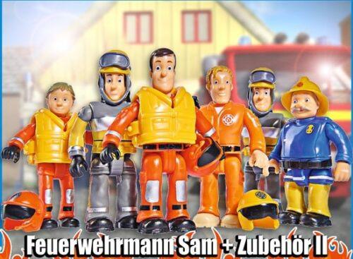 "ACCESSOIRES NEUF neuf dans sa boîte Simba Pompier Sam personnages du Oeuf série 2 figurine /""SAM/"""