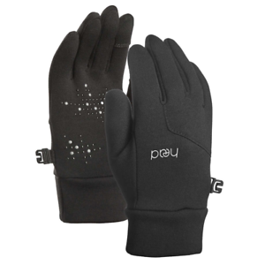 Black HEAD Kids' Touchscreen Gloves