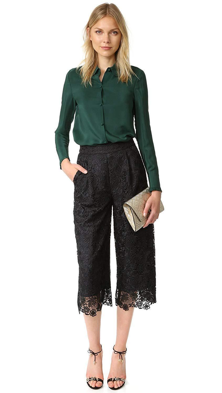 Diane von Furstenberg DVF Holly Lace Pants   428.00