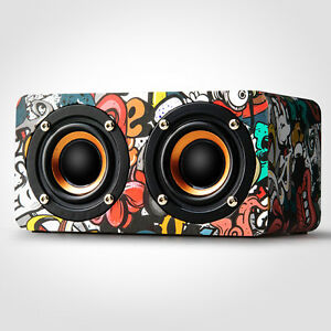 Mini-Wooden-Wireless-Bluetooth-4-0-Speaker-Portable-Stereo-Bass-Music-Speakers