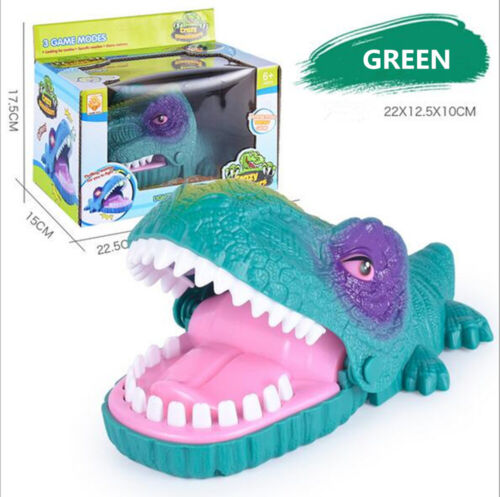 Press The Teeth And Avoid Being Bit Girls Boys Toys Biting Crazy Dinosaur Game