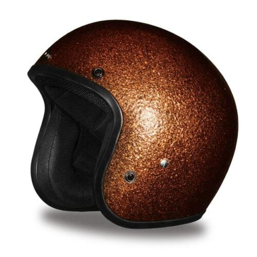 Daytona CRUISER-ROOT BEER METAL FLAKE DOT Motorcycle Helmet DC7-RB