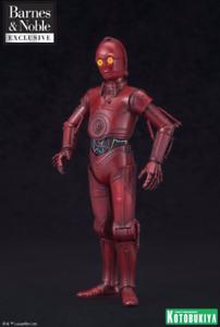 KOTOBUKIYA ARTFX+ Star Wars 1 10 Scale R-3PO EXCLUSIVE Barnes & Noble  - NIB