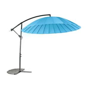 Royalcraft-3-M-Shanghai-Parapluie-cantiever-Parasol-Exterieur-Ronde-Bleu-Metallique