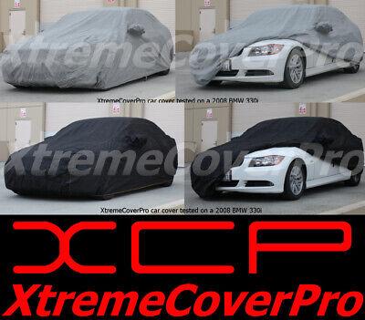 Black 2015 MITSUBISHI LANCER Breathable Car Cover w//Mirror Pockets