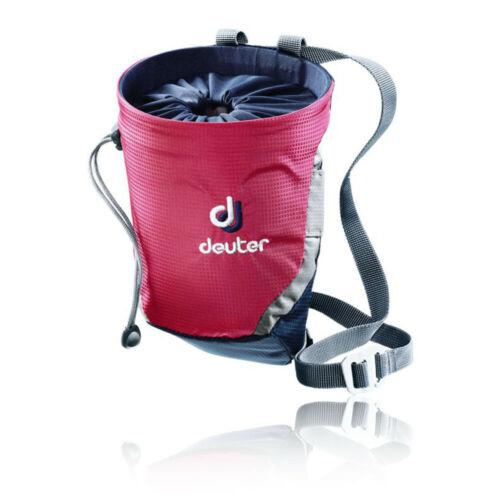 Deuter Unisexe gravité Chalk Bag II M Gris Bleu Marine Rose Sports Escalade