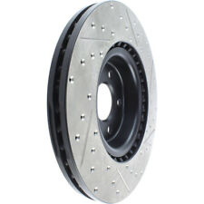Centric Slotted and Drilled Brake Rotor 127.33138L