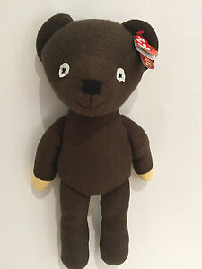 large ty mr bean teddy soft plush toy approx 15 38cm buddy size bnwt 8421963102 ebay. Black Bedroom Furniture Sets. Home Design Ideas
