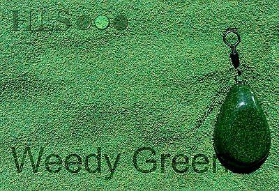 WDG WEEDY GREEN Jig head//lead plastic coating powder HLS Carp fishing tackle