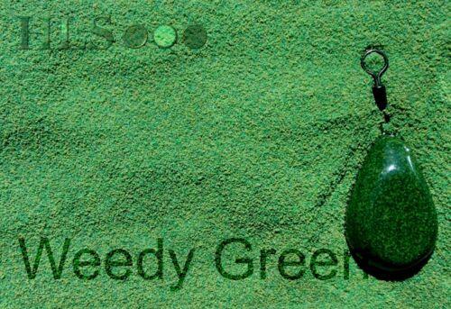 Schmächtig Grün Jig Kopf Leine Plastik Beschichtungspulver
