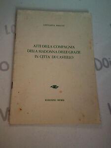 Atti Della Airline Della Madonna Of Graces IN Citta' Of Castello