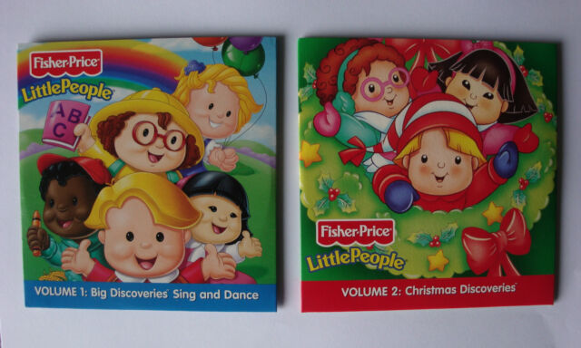 childrens NURSERY RHYMES AND CHRISTMAS CAROLS CD fisher price LITTLE PEOPLE new