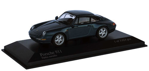Minichamps 1 43 1993 Porsche 911 Green