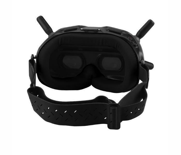 Adjustable Head Band for DJI FPV Goggle V2 (Type 1) #FP-HB03 BLACK COLOUR