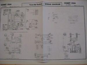 [SCHEMATICS_4UK]  1966 MERCURY COMET CYCLONE CALIENTE CAPRI WIRING DIAGRA | eBay | 1966 Mercury Comet Wiring Diagram |  | eBay