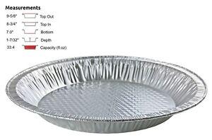 Image is loading Handi-Foil-10-034-Aluminum-Pie-Pan-1-  sc 1 st  eBay & Handi-Foil 10