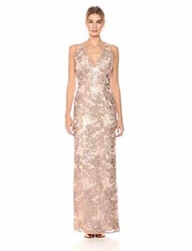Aidan Mattox Women's Sleeveless Column Gown Size 0  C520 MSRP