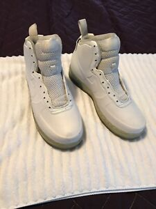 1dd0732157983 Nike Air Force 1 High Foamposite White Ice Blue 415419-100 Men s ...
