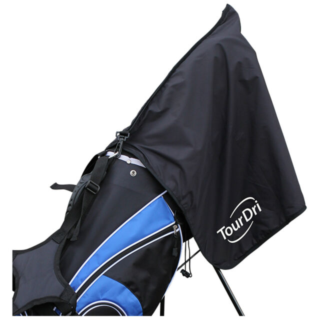 71a5850f8f26 TourDri 2 In 1 Bag Rain Hood & Towel - New Masters Golf Black Cover  Waterproof