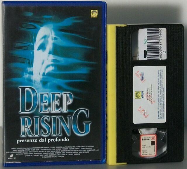 DEEP RISING Presenze dal Profondo VHS Film Stephen Sommers