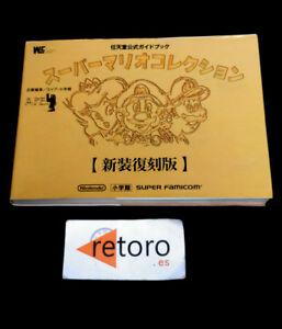 GUIA-GUIDE-BOOK-SUPER-MARIO-COLLECTION-Nintendo-Official-guidebook-Super-Famicom