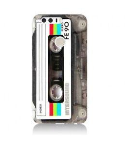 Détails sur Coque Huawei P smart Cassette tape FE90 K7 vintage retro