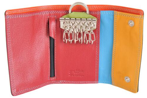 Golunski GRAFITTI Soft Leather Key Holder nota sezione blocco carta di credito 7-169