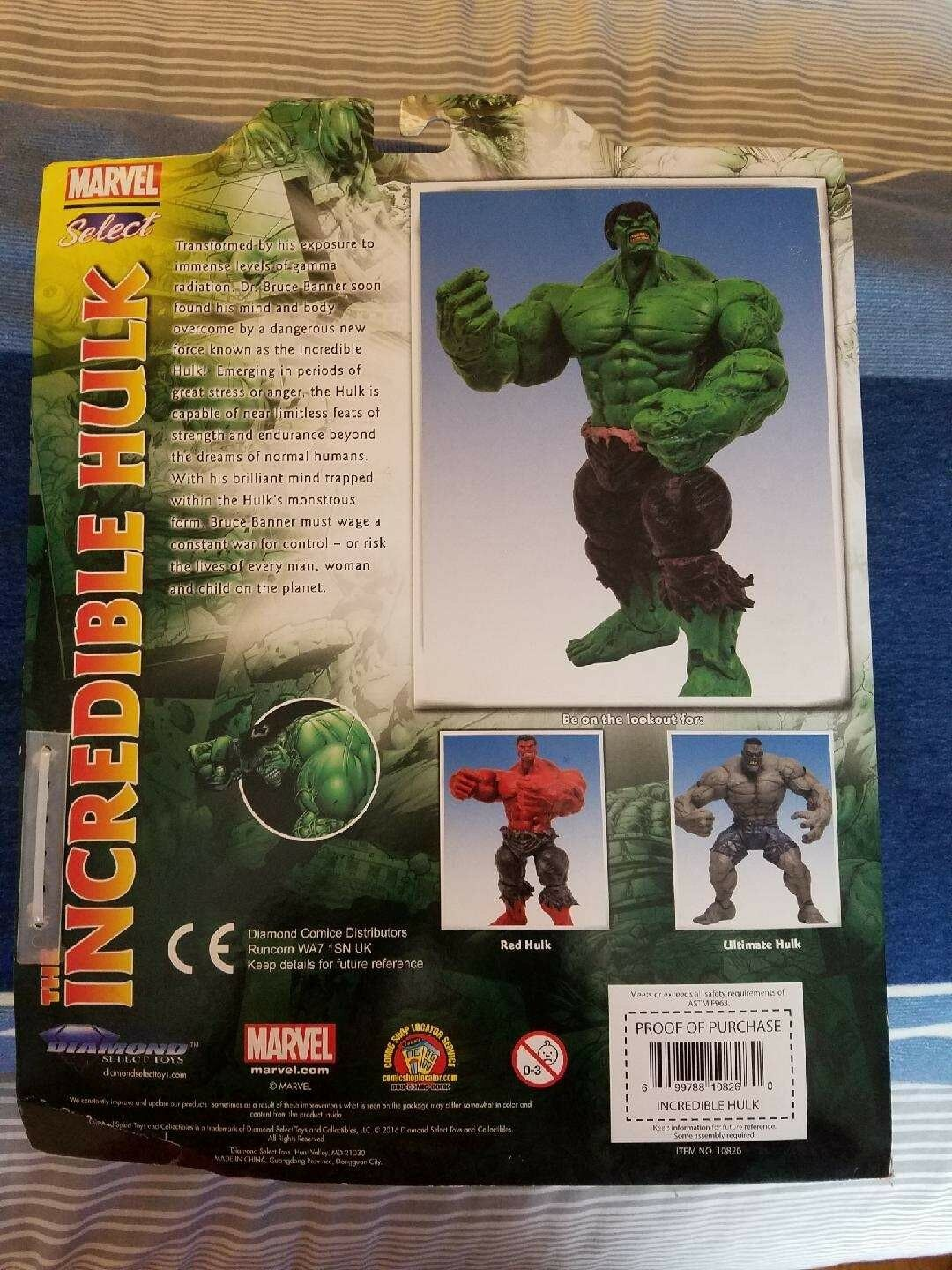 THE INCREDIBLE HULK (GREEN) ACTION FIGURE by by by Diamond Select Toys 493c2d