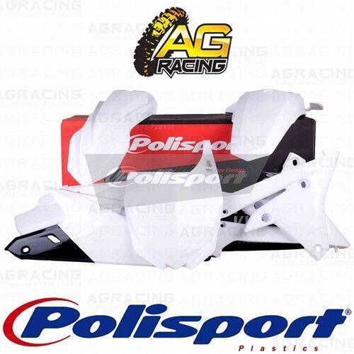 Polisport Plástico Caja Kit Para Yamaha YZ YZF 250 Blanco 250F Kit 2014-2018