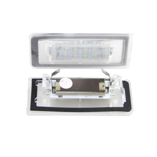 For Audi TT MK1 8N 1999-2006 White CANbus Led Number License Plate Light Lamp