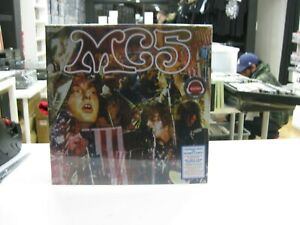 MC5 LP Europa Kick Out The Jams 2020 Klappcover Red White Blue SplatterVinyl