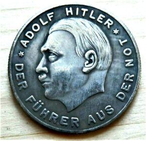 WW2-GERMAN-COMMEMORATIVE-COLLECTORS-50-PFENNIG-COIN