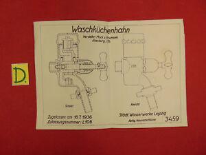 Antiquitäten & Kunst Gehorsam Schema Waschküchenhahn Zugellasen Am 18.7.1936 Bücher