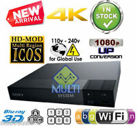 Sony Bdp-s6700 All Region Code Free Dvd And Blu-ray Disc Player - 4k Upscaling
